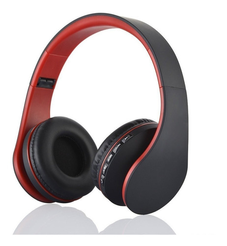 auriculares bluetooth inalámbrico vincha fm micro sd colores