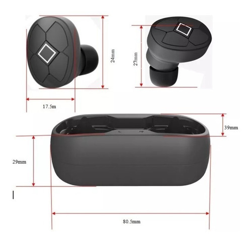 auriculares bluetooth inalambricos tws  in ear sin cable deportivo