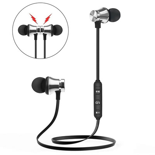 auriculares bluetooth magneticos in ear deporte running mic