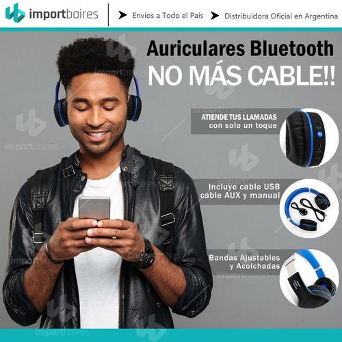 auriculares bluetooth manos libres vincha plegable garantia