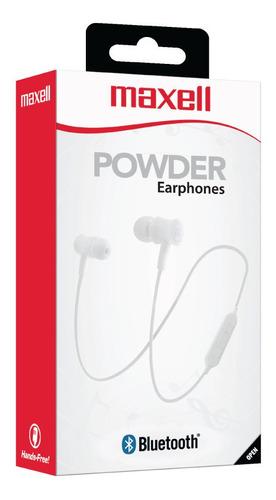 auriculares bluetooth maxell powder bt600 original con mic