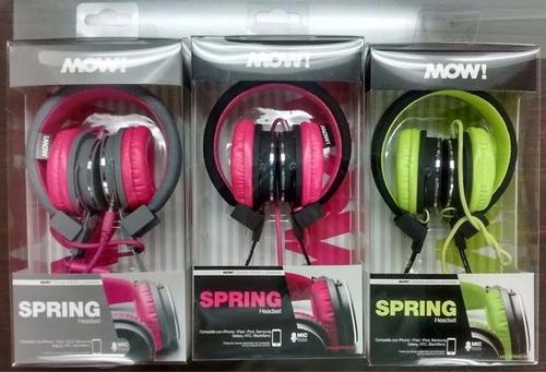auriculares bluetooth mow spring para todos los dispositivos