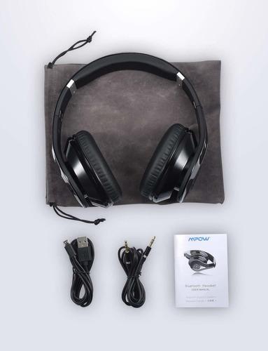 auriculares bluetooth mpow 059 vincha super graves hi-fi mic