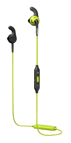 auriculares bluetooth philips shq6500cl/00 negro-verde