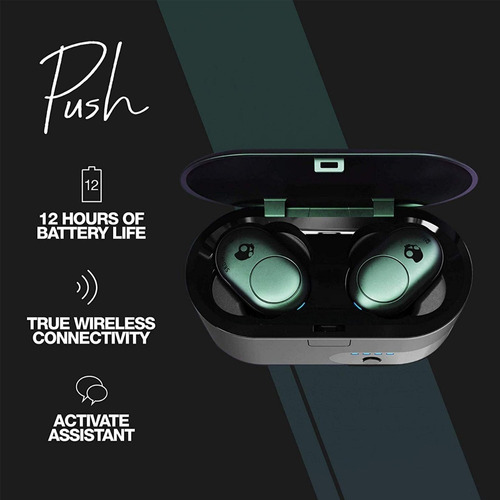 auriculares bluetooth  skullcandy push true airpods