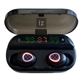 Auriculares Bluetooth True V5.0 Tws, Modelo V10, Display Led