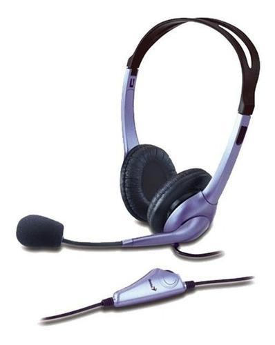 auriculares c/microfono genius hs-04s