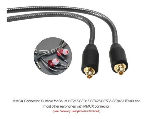 auriculares con cable 3.5 mm gris