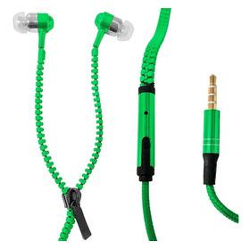 Auriculares Con Cierre Microfono Manos Libres Colores