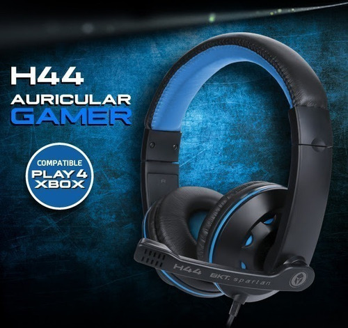 auriculares con microfono bkt h44 ps4 xbox tablets pc