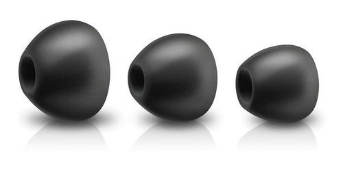 auriculares con microfono philips bass + she4305bk/00 negro
