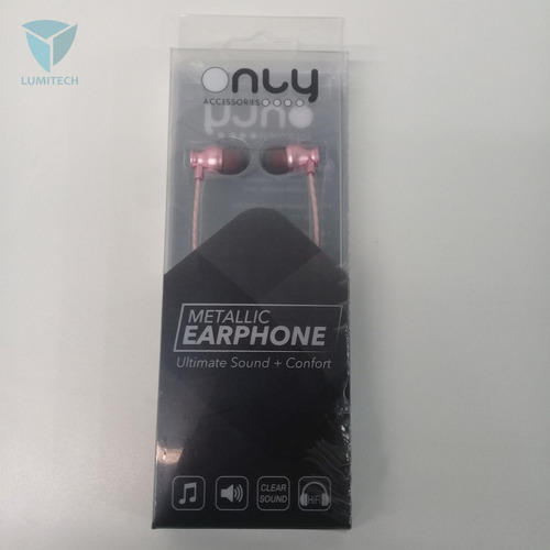 auriculares confort  metal-0032 - only