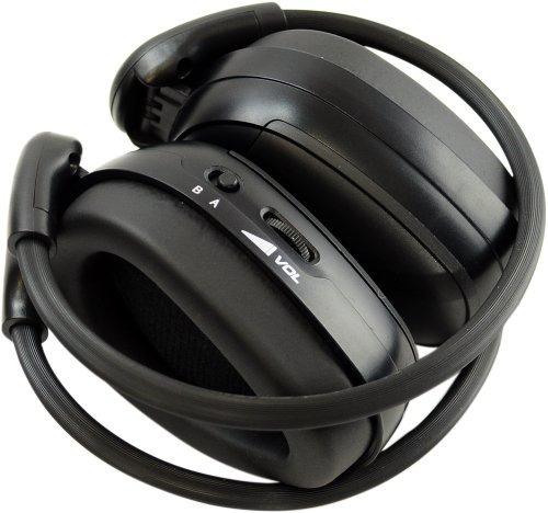 auriculares de coche,pyle plvwh1 in-car infrared dual-ch..
