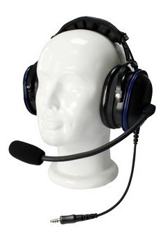 auriculares de diadema de uso rudo sobre la cabeza para mo