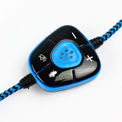 auriculares de juego sades sa-901 usb sonido envolvente 7.1