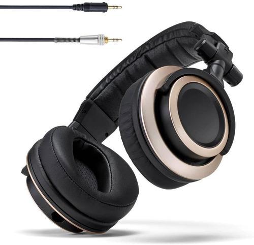 auriculares de monitor de estudio con respaldo cerrado cb-1