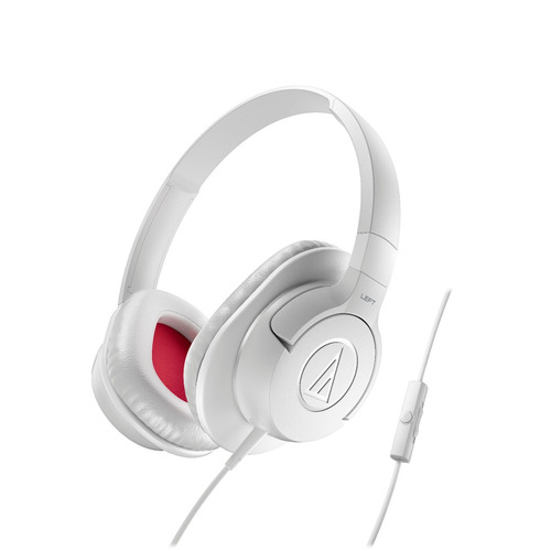auriculares de vincha audio technica ath ax1is wh blanco