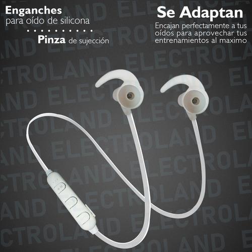 auriculares deportivos bluetooth  micrófono manos libres bt