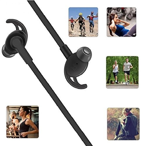 auriculares deportivos cooiepa impermeables, canc. d/sonido