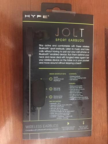 auriculares deportivos inalámbricos  jolt