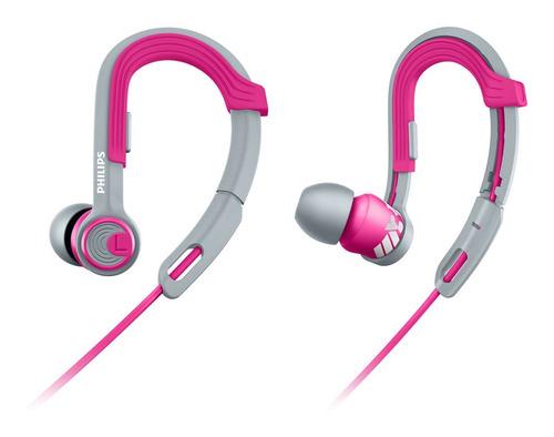 auriculares deportivos philips shq3300pk cable de kevlar