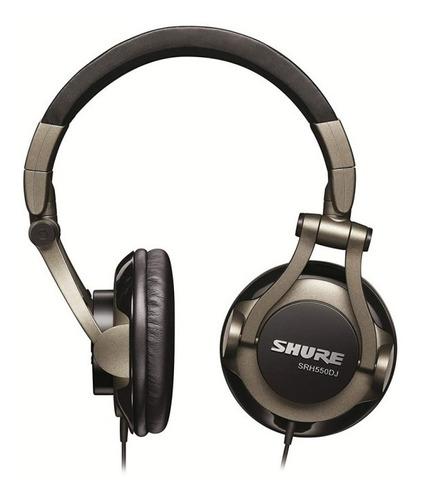 auriculares dj calidad profesional srh550dj shure