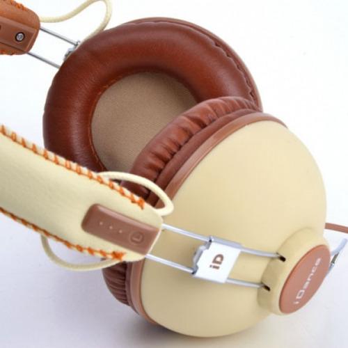 auriculares dj profesionales idance hipster 701 vintage mic