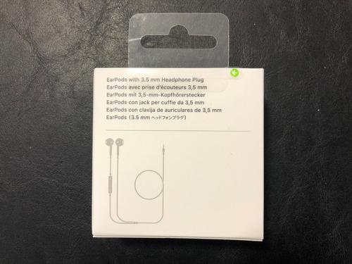 auriculares earpods con jack de 3.5 para apple