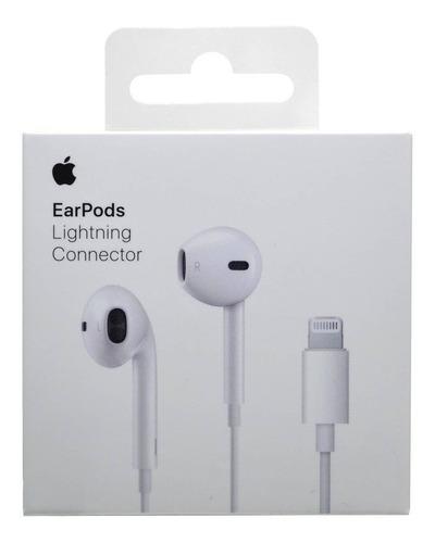 auriculares earpods lightning iphone x 8 7 plus