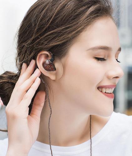 auriculares es4 híbridos 1ba y 1dd de kz