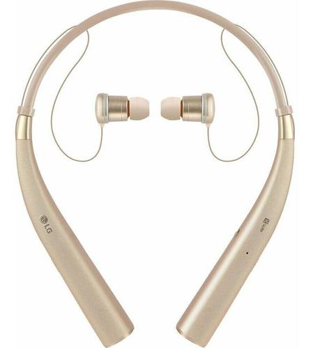 auriculares estéreo inalámbricos lg tone pro hbs-780 gold