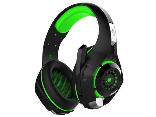 auriculares gamer - aug300 - ps4/pc/celular- verde