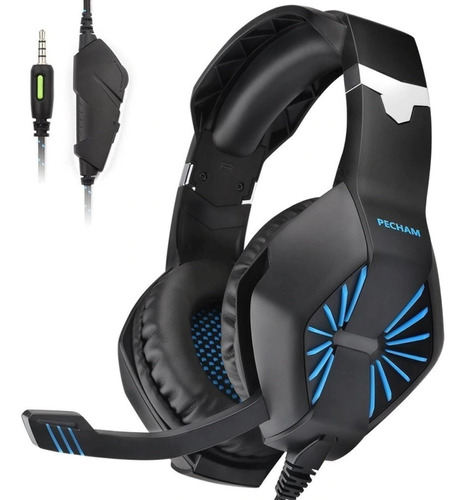 auriculares gamer con micrófono gaming pc ps4
