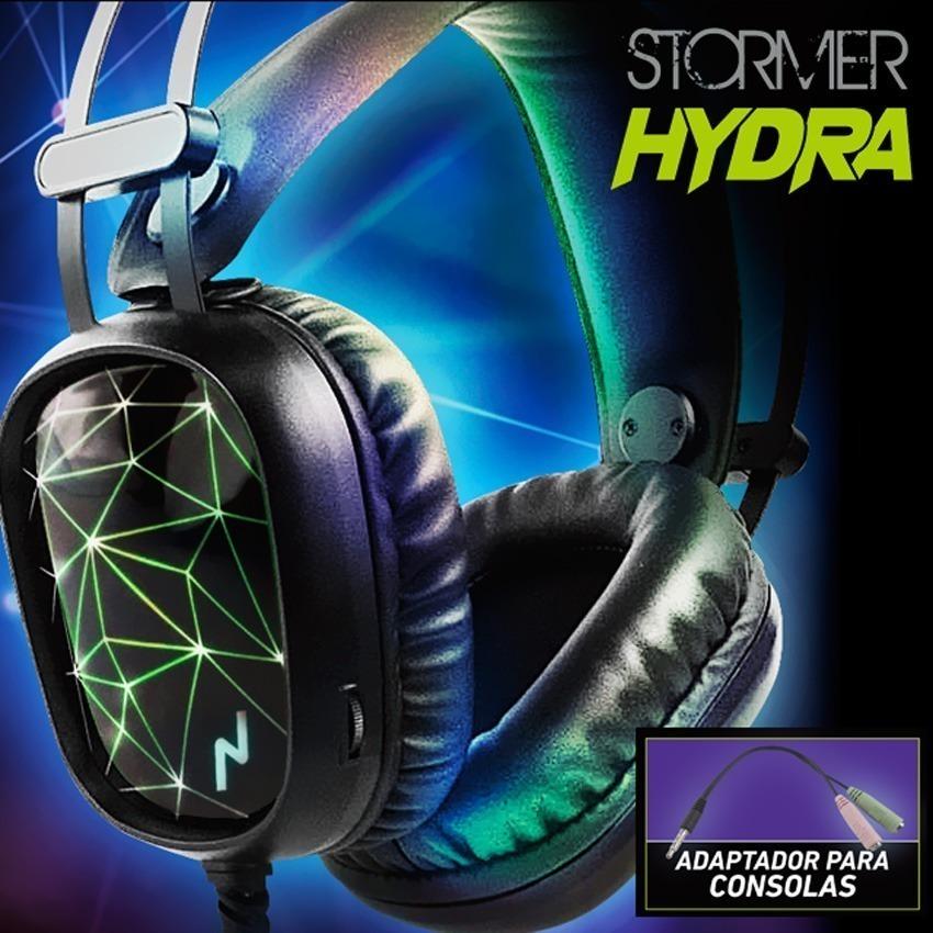 Auriculares Gamer Con Micrófono Noga Stormer Hydra Pc Ps4