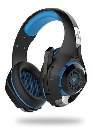 auriculares gamer con microfono para ps4 fortnite azul