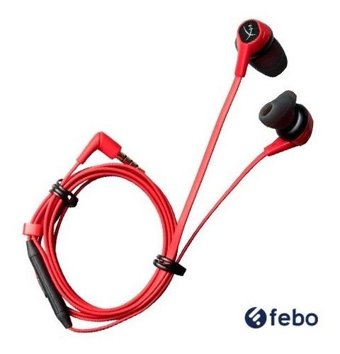 auriculares gamer hyperx nintendo switch microfono febo