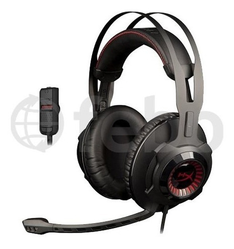 auriculares gamer kingston hyperx cloud revolver ps4 pc xbox