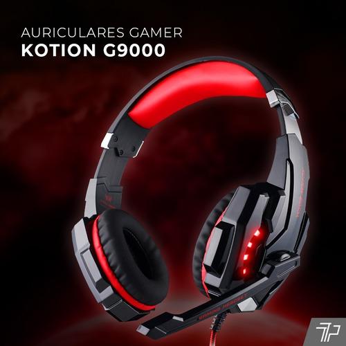 auriculares gamer microfóno juegos ps4 pc notebook heads