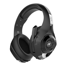 Auriculares Gamer Nisuta Nsaug300 Color Negro Ps4 / X-box
