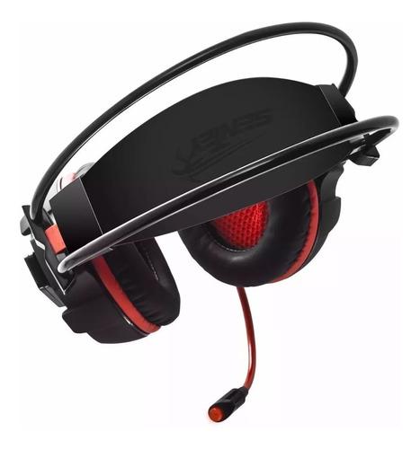 auriculares gamer pc headset sentey laxer 7.1 vibracion led
