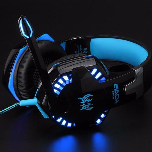 auriculares gamer ps4 microfono pc compu play 4 2k fortnite