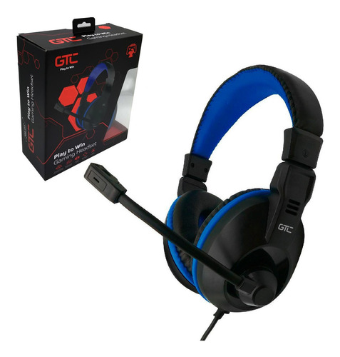 auriculares gamer ps4 pc con microfono hsg-516 joystick ps4