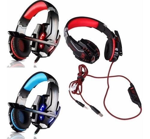 auriculares gamer ps4 pc xbox c/micrófono 7.1 g9000