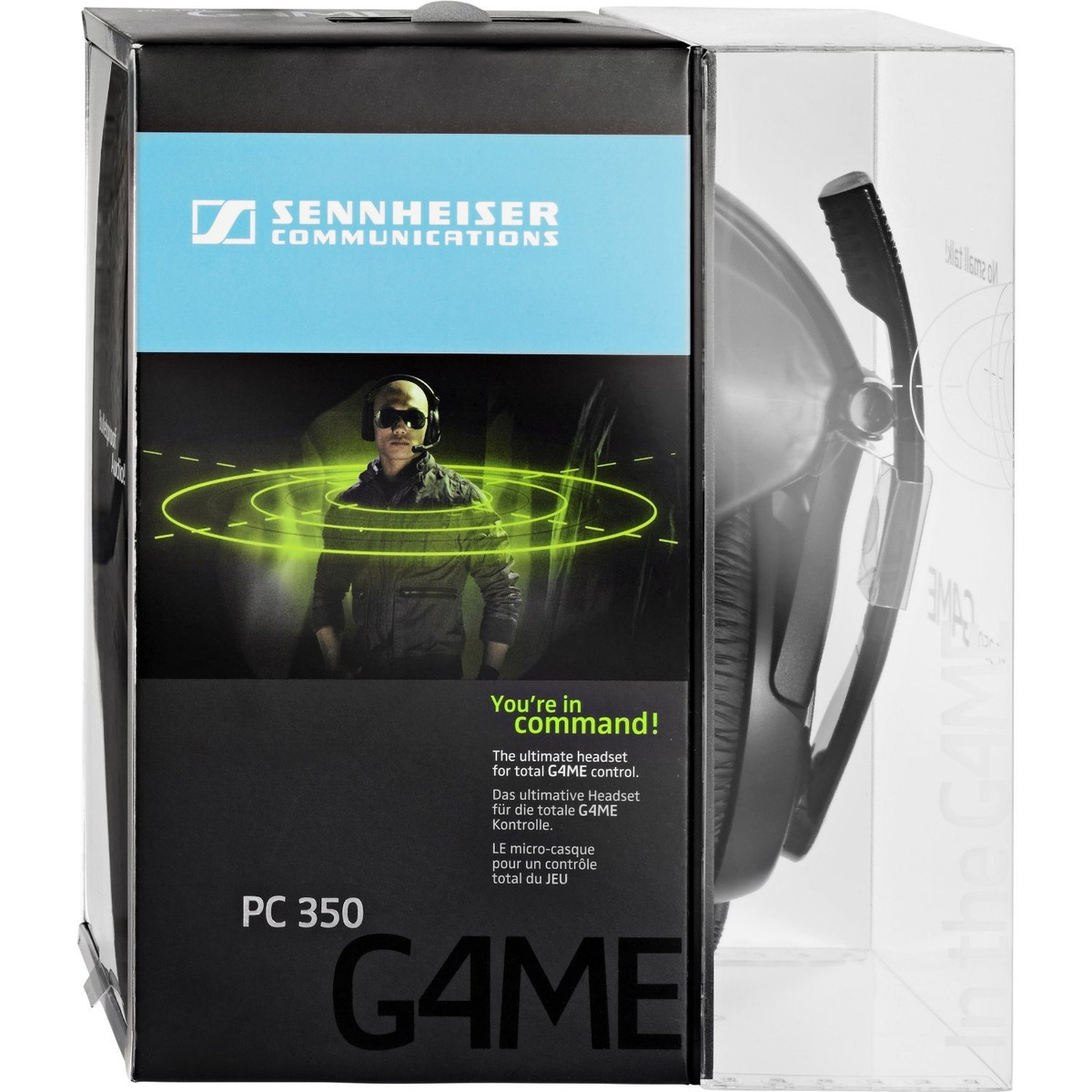 Auriculares Gamer Sennheiser Pc 350 Special Edition High