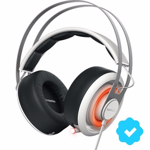 auriculares gamer steelseries siberia 650 white usb mic