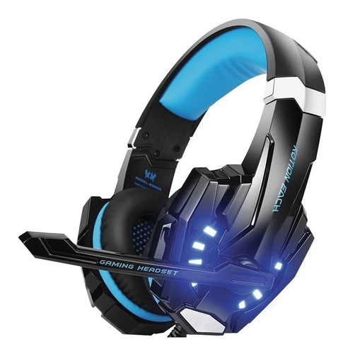 auriculares gamer usb pc ps4 headset microfóno juegos