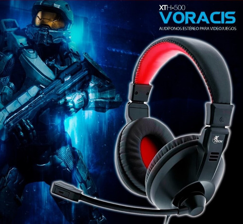 auriculares gaming x-tech voracis xth500