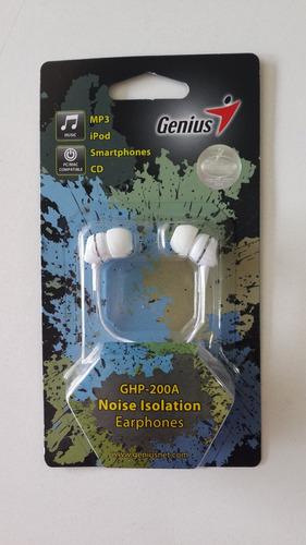 auriculares genius ghp-200a