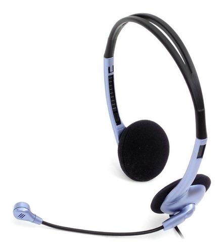 auriculares genius hs-02b con microfono para pc