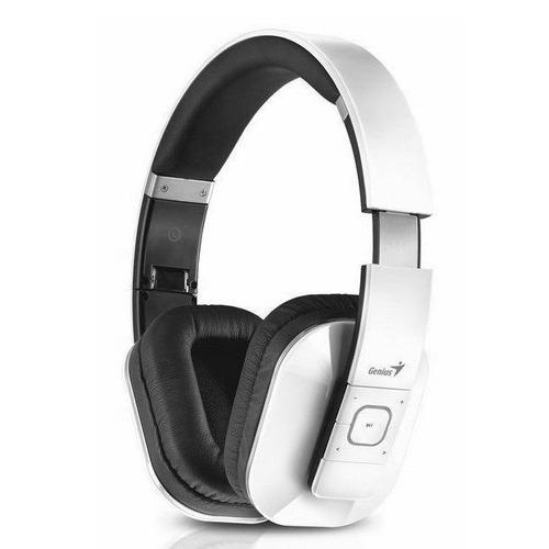 auriculares genius hs-970bt bluetooth 4.0 micrófono 3.5mm